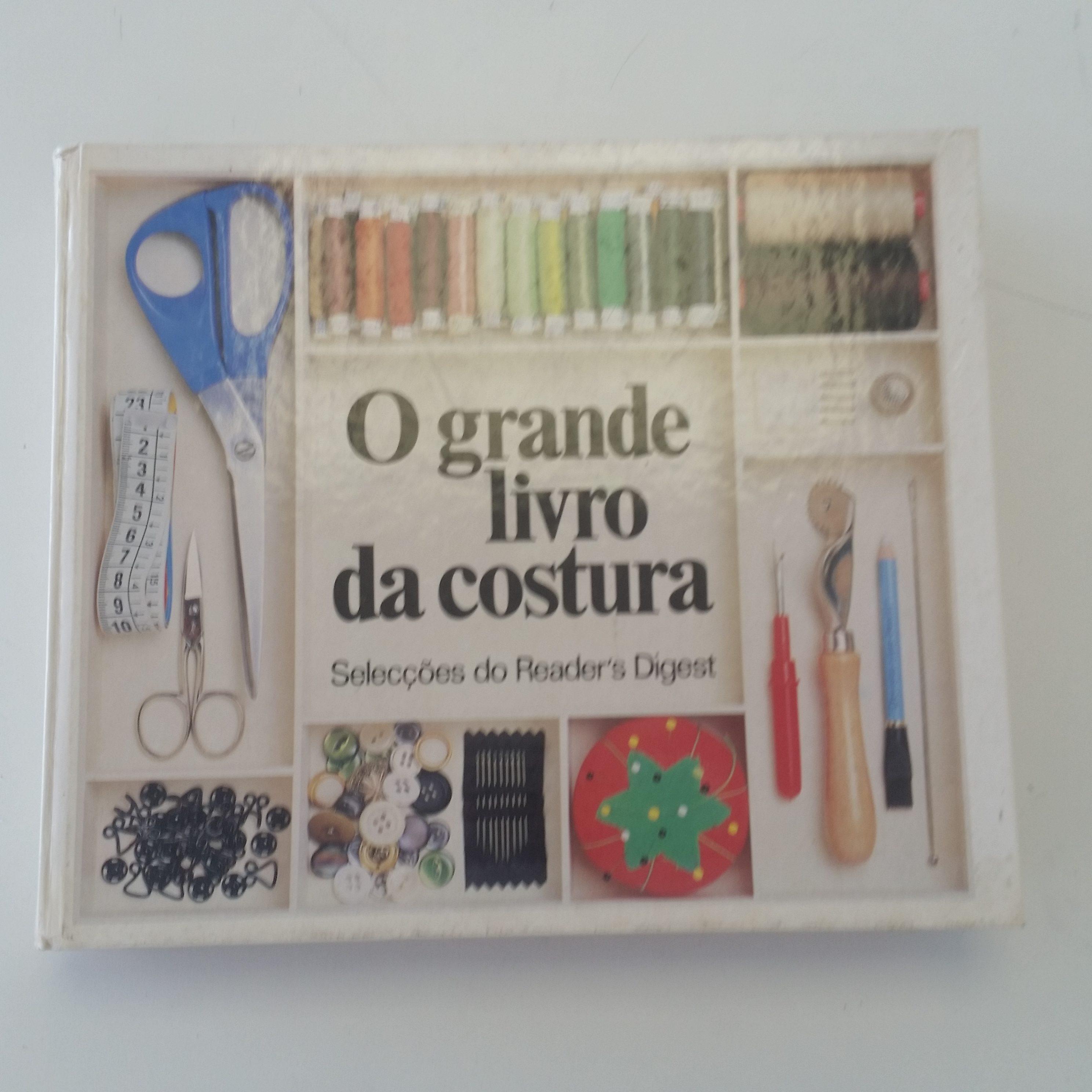 Livros que eu uso como referência e inspiração para a costura